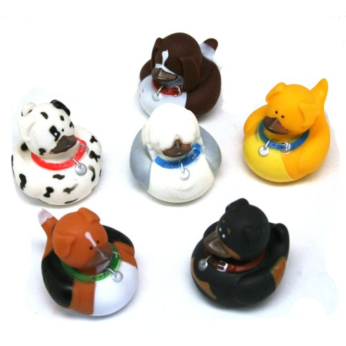 Dog Rubber Duckies (1 dz)