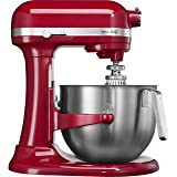 Kitchen Aid KSM7990 Heavy Duty Stand Mixer Empire Red- 220 Volts Only! Will Not Work In The USA