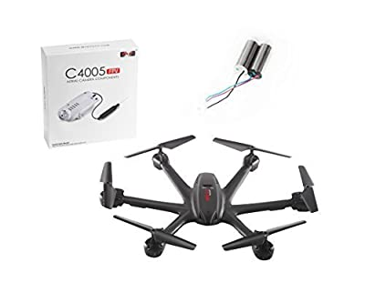 Feifan® Newest Quadcopter MJX X600 4ch 6-axis Gyro Rc Hexrcopter Drones with Wifi FPV C4005 Camera & 2 Mjx X600 Motors(a+b)