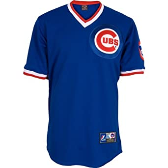Chicago Cubs Ryne Sandberg 1984 Cooperstown Fan Jersey by Majestic Athletic