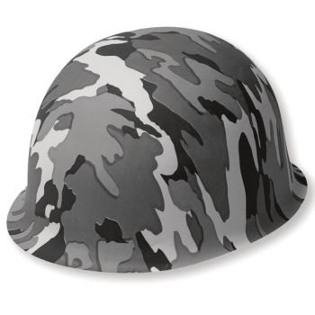 Operation Camo Plastic Helmet