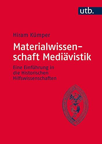 Materialwissenschaft Mediävistik