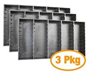 Package of 3 Bryco MDV-50 MiniDV Tape Storage Rack