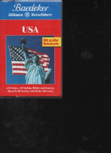 Baedeker Reiseführer USA 1994, , 632 Seiten,