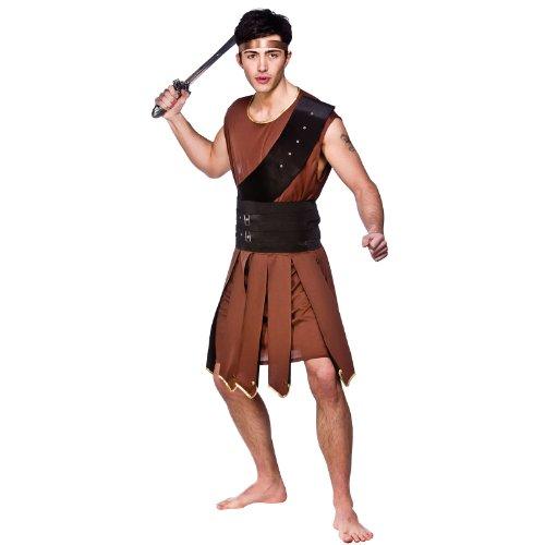 Sparticus Gladiator - Adult Costume Men : LARGE