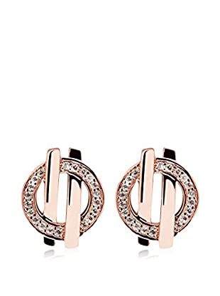ZRC 1904 Pendientes Keep A Secret plata bañada en oro 18 ct