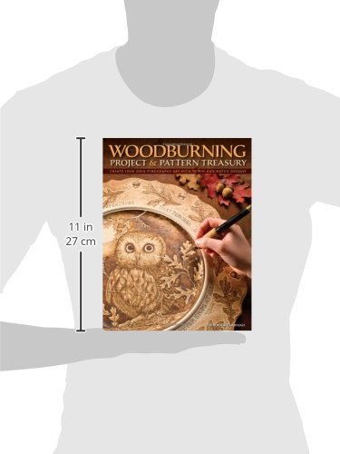 Woodburning Project Pattern Treasury Create Your Own Pyrography Art with 75 Mix and Match Designs