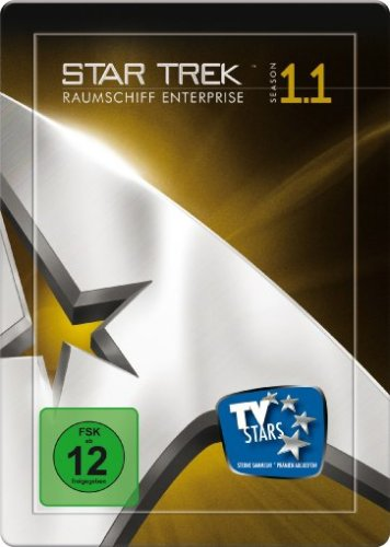 Star Trek - Raumschiff Enterprise: Season 1.1, Remastered (4 DVDs im Steelbook)