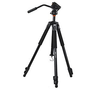 VANGUARD Abeo 243AV Tripod for Videography (Black)