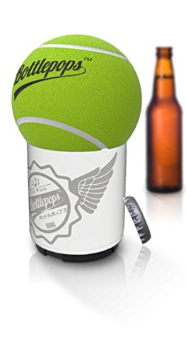 BOTTLEPOPS - Talking Bottle Opener - Best Push Down Automatic Cap Remover - Bottle Hammer With Upto 25 Unique...