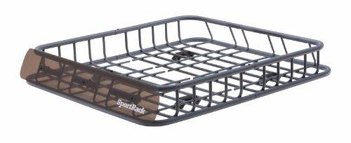 Sportrack Sr9030 Roof Basket, Black front-386177