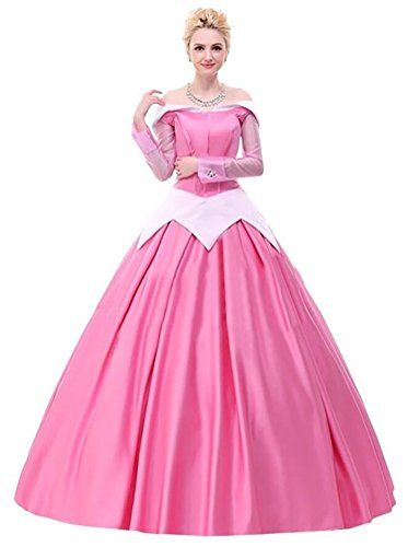 Halloween 2017 Disney Costumes Plus Size & Standard Women's Costume Characters - Women's Costume CharactersAdult Women's Halloween Deluxe Sleeping Beauty Princess Costume - Size Small - XL or Made-to-fit Custom Dress