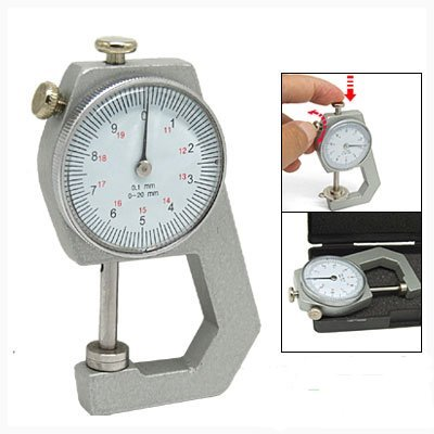 Amico Pocket Thickness Measurement Gauge Gage Tool 0 to 20mm