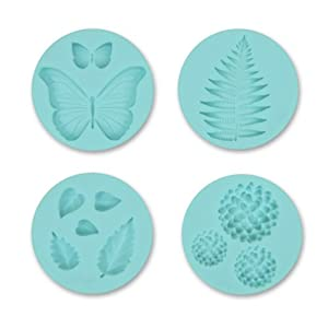 Martha Stewart Crafts Silicon Mold, Flower Garden
