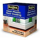 Rustins PCFS4000 4L Plastic Floor Coating Satin