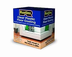 Rustins PCFS1000 1L Plastic Floor Coating Satin