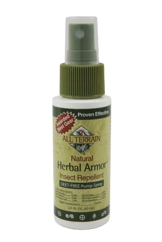All Terrain Herbal Armor DEET-Free Natural Insect Repellent Spray, 2-Ounce