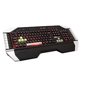 Saitek PK17U Cyborg Gaming Keyboard with Tri-Color Backlighting