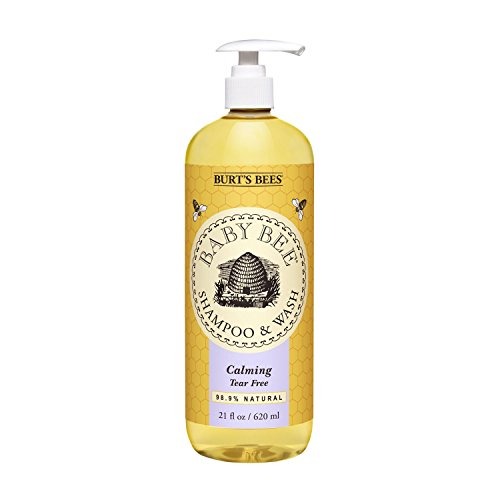 Burt's Bees Baby Bee Shampoo and Wash, Calming, 21 Fluid Ounces - 1