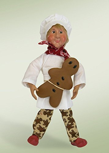7-kindles-crumb-baker-with-gingerbread-man-poseable-baker-christmas-figure-by-byers-choice