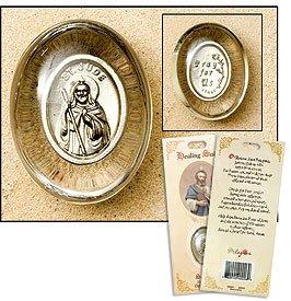St Jude Healing Saint Pocket Stone