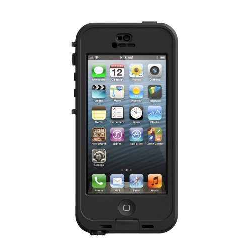 Lifeproof Nuud Case for iPhone 5 - Black/Smoke Black Friday & Cyber Monday 2014