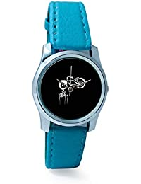 BigOwl Bike Is My Reality Women's Analog Wrist Watch 1293804536-RS2-S-TEA