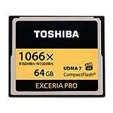 東芝 コンパクトフラッシュ 64GBEXCERIA PRO CF-EX064V