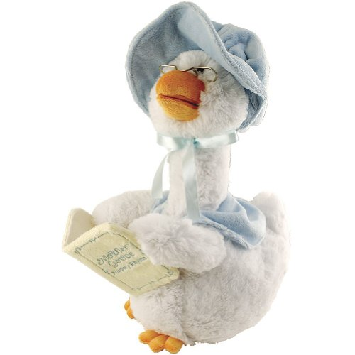 Cuddle Barn Plush Mother Goose 7 Rhyme Blue