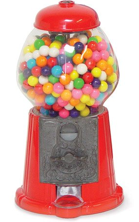Vintage Gumball Machine - Antique Gumball Machine FREE Gumballs 0