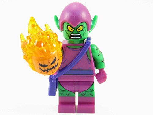 LEGO Marvel Super Heroes Green Goblin Minifigure 76057 Mini Fig by LEGO
