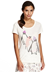Limited Collection Penguin Pyjama Top