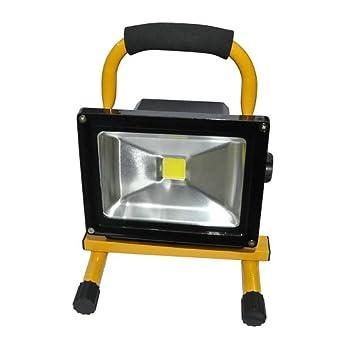 20w led flood light portable rechargeable bright led flood work light. Black Bedroom Furniture Sets. Home Design Ideas