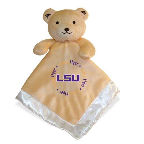 Baby Fanatic Security Bear Blanket, Louisiana State University front-999480
