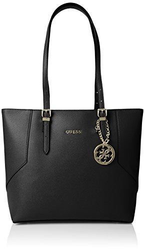 Guess Damen Isabeau Carryall Handtaschen, Schwarz (Nero), One Size