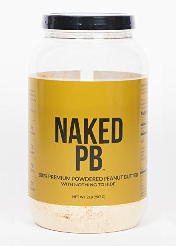 NAKED PB - 100% Premium Powdered Peanut Butter - 2lb Bulk