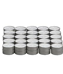 Artworks Tea Light smokeless Candles lasts 4 Hours 10 Pieces 3.5CM x 1CM