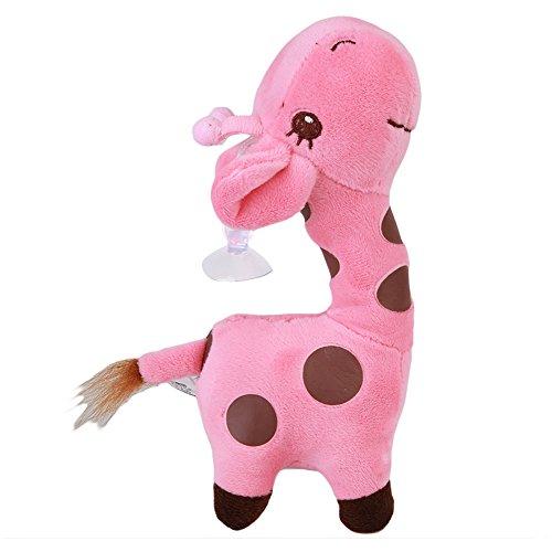 VWH Rosa 18cm Weiches Plüsch Spielzeug Kinder Giraffe Puppe Kissen Spielzeug