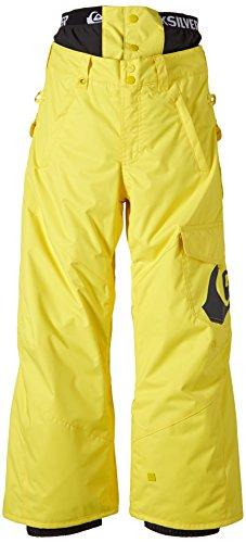 Quiksilver, Pantaloni da snowboard Bambino Planner, Giallo (Aurora), L