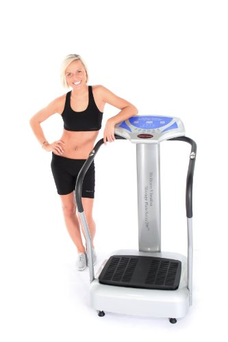 Vibration Plate MEDICARN PRO Series 200 FREE Workout DVD 2 Year International Warranty