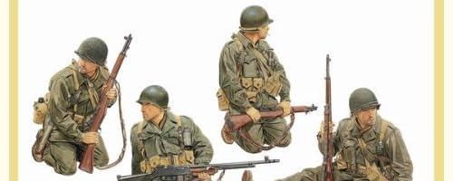 1/35 アメリカ陸軍 戦車搭乗兵 1944-45 (GEN2)