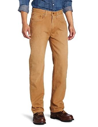 Carhartt Men's  Weathered Duck 5 Pocket Pant, Carhatt Brown, 30 x 30