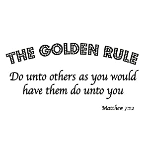 The golden rule in christian dating