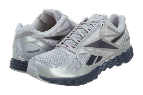 Reebok Men's Solarvibe Running Shoe,Light Grey/Pure Silver/Navy,13 M US