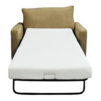Classic Brands Memory Foam Sofa Mattress, Replacement Sofa Bed Mattress, Full Size by Classic Brands