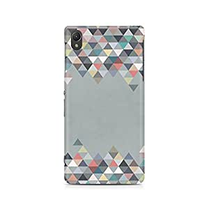 Motivatebox- Mountains in Grey Premium Printed Case For Sony Xperia Z5 Dual -Matte Polycarbonate 3D Hard case Mobile Cell Phone Protective BACK CASE COVER. Hard Shockproof Scratch-