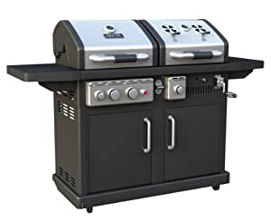 Dyna-Glo DGP700SSB-D Dual Fuel LP/Charcoal Grill (Discontinued by Manufacturer)