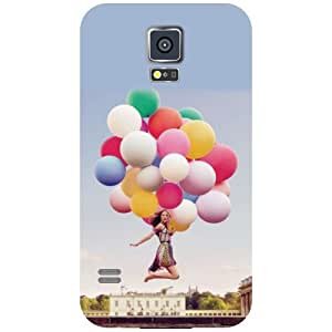 Samsung Galaxy S5 Balloons Matte Finish Phone Cover