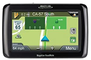 Magellan Roadmate 4.3 Inch Widescreen Portable Gps Navigator With Lifetime Maps And Traffic 2136tlm