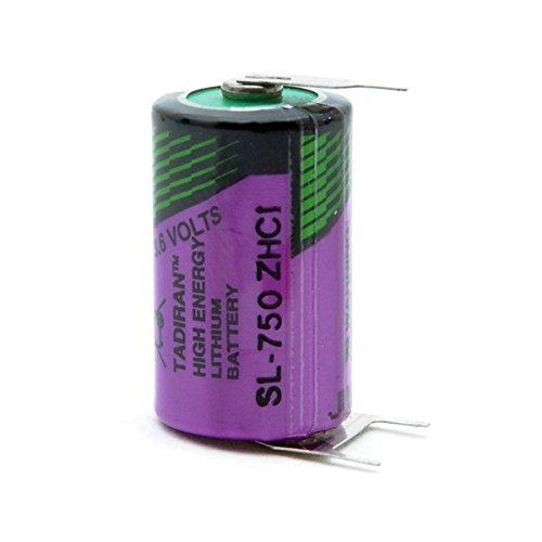 Tadiran - Pile lithium SL750/PT 1/2AA 3.6V 1.1Ah PT - Boîte(s) de 1